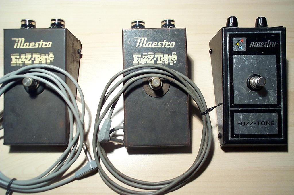 maestro guitar pedal