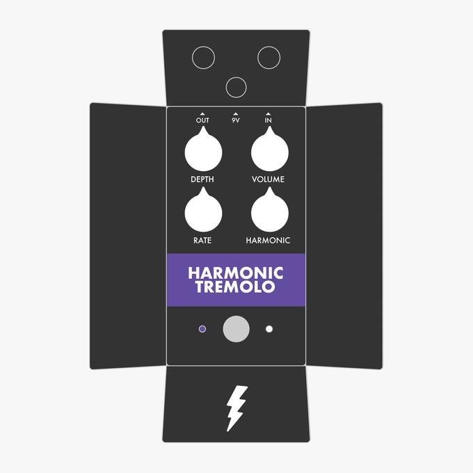 Harmonic Tremolo Gear Supply Co Pedal