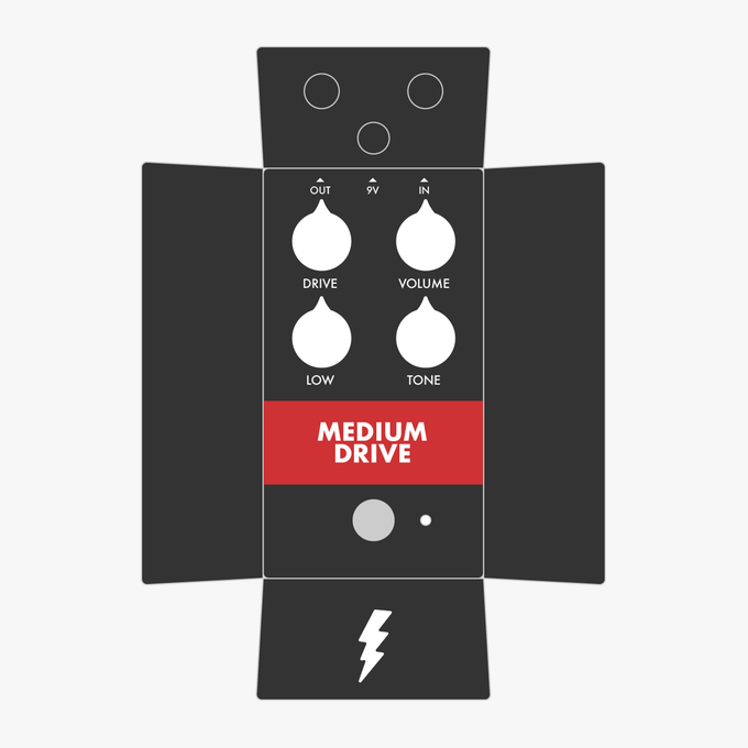 Medium Drive Gear Supply Co Pedal