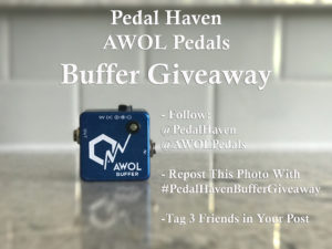 Pedal Haven Buffer Giveaway
