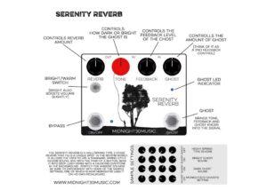 serenity reverb controls