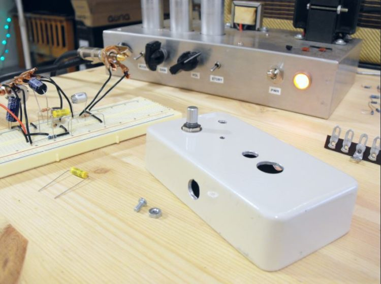 Build Your Own Distortion Pedal Kit