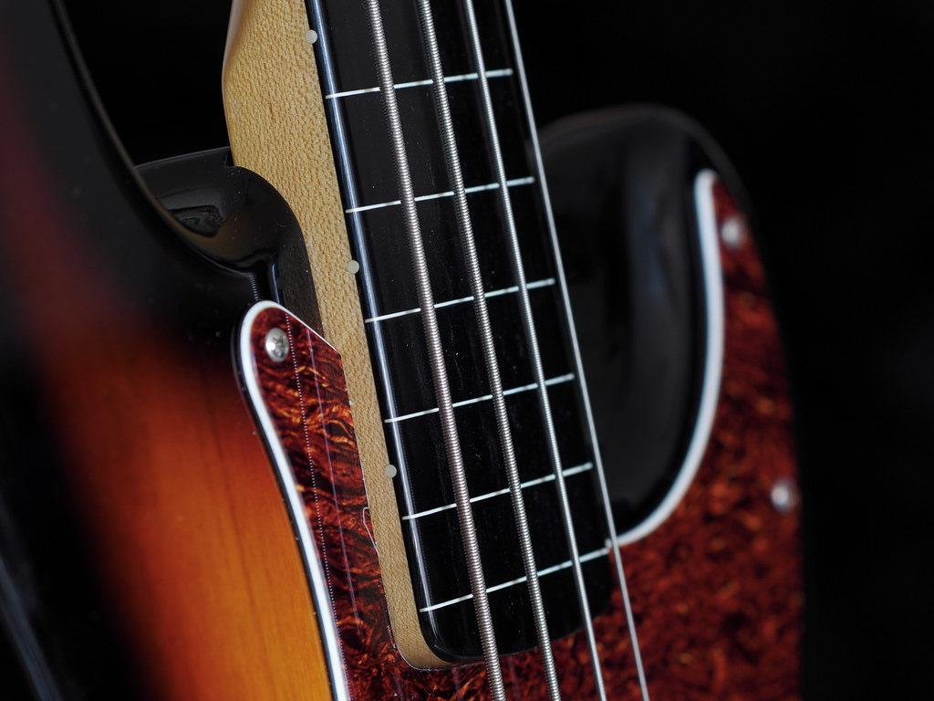 Bass guitar pedals
