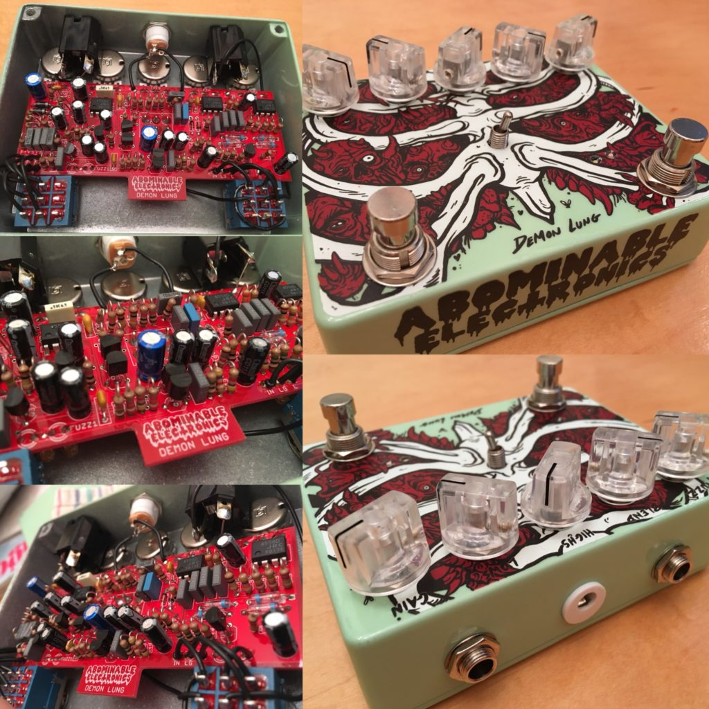 Demon Lung Pedal Abominable Electronics