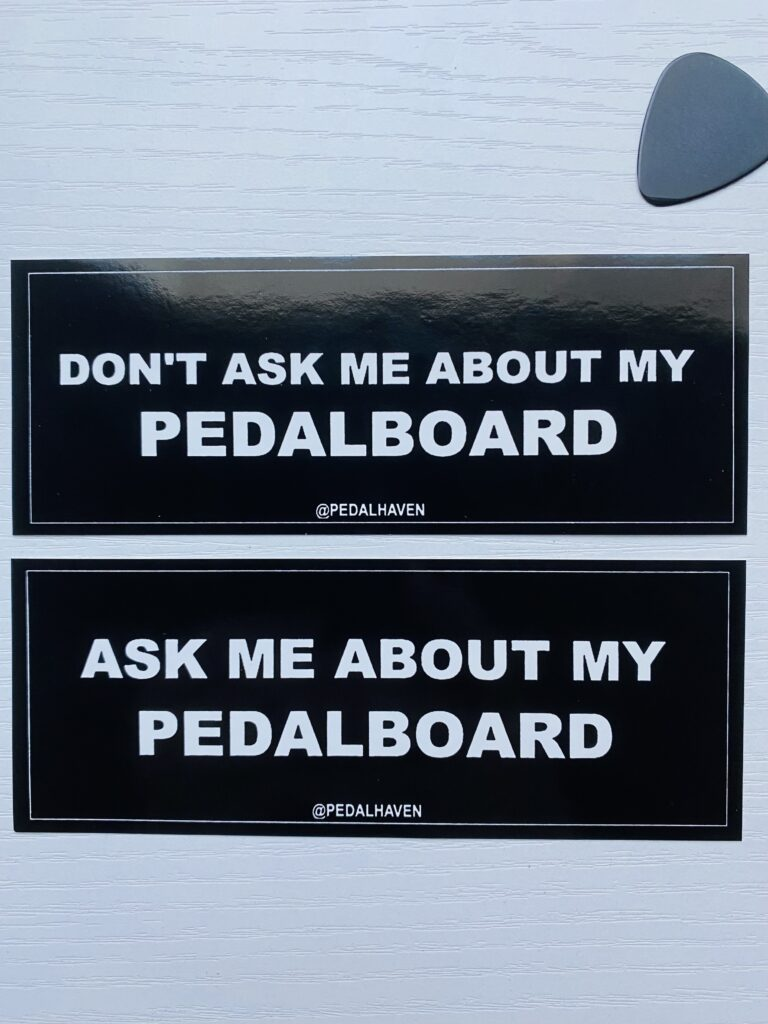 Pedal Haven Double Sticker Pack